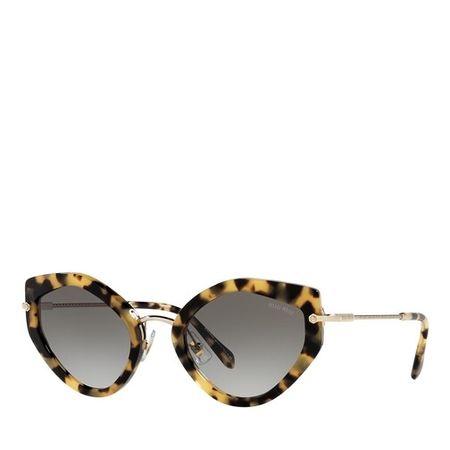 Miu Miu  Sonnenbrille - 0MU 08XS - in light brown - für Damen