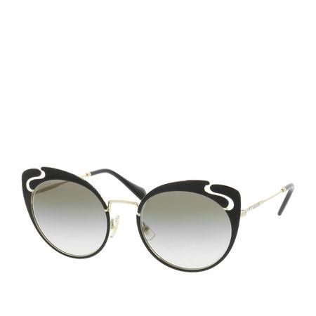 Miu Miu  Sonnenbrille  -  MU 0MU 57TS 54 1AB0A7  - in schwarz  -  Sonnenbrille für Damen grau
