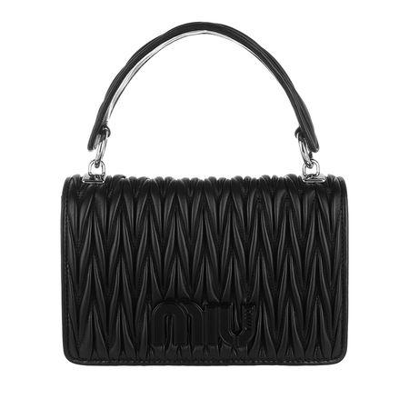 Miu Miu  Tasche  -  Borsa Tracolla Catena Piccola Nero  - in schwarz  -  Tasche für Damen schwarz