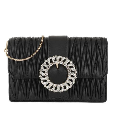 Miu Miu  Tasche  -  Cross Body Small Chain Bag Bijou Nero  - in schwarz  -  Tasche für Damen schwarz