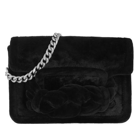 Miu Miu  Tasche  -  Miu Tresse Velvet Bag Nero  - in schwarz  -  Tasche für Damen schwarz