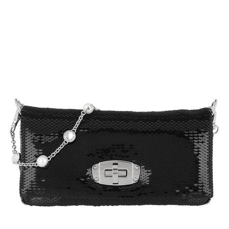 Miu Miu  Tasche  -  Sequin Crossbody Bag Black  - in schwarz  -  Tasche für Damen schwarz