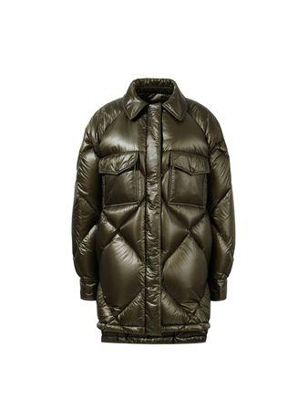 Moncler  - Daunenjacke 'Doumble' Khaki schwarz