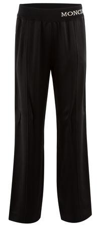 Moncler  - Joggpants aus Viskosegemisch schwarz