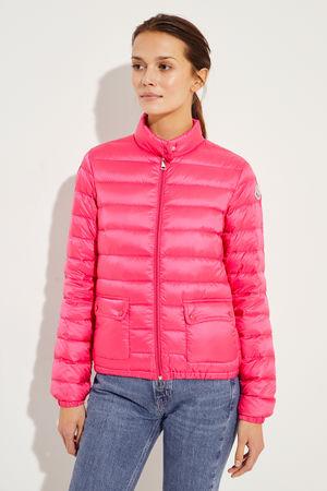 Moncler  - Leichte Daunen-Jacke Pink