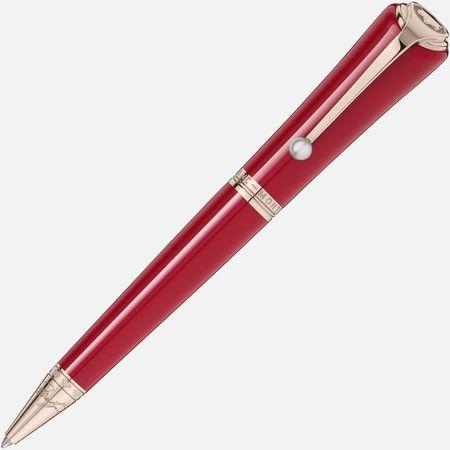 Montblanc  - Muses Marilyn Monroe Special Edition Kugelschreiber - Kugelschreiber - Rot