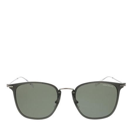 Montblanc  Sonnenbrillen - MB0157SA-001 53 Sunglass MAN INJECTION - in grau - für Damen