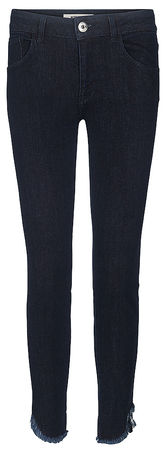 Mos Mosh Damen Stretchjeans Sumner Fray Dark Blue Denim schwarz
