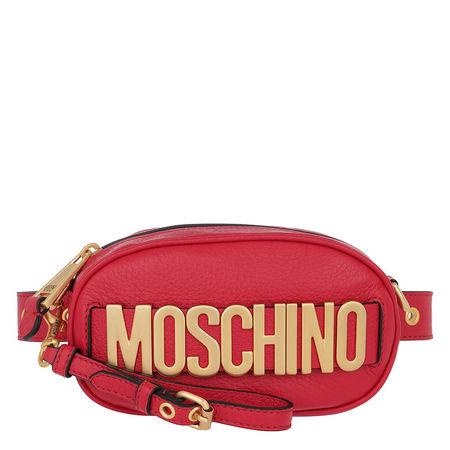 MOSCHINO  Gürteltasche  -  Logo Belt Bag Red  - in rot  -  Gürteltasche für Damen rot