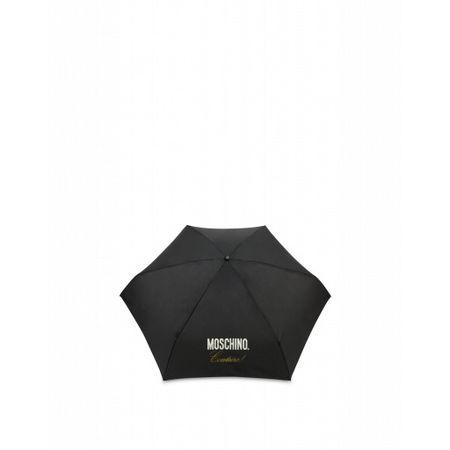 MOSCHINO  Mini Regenschirm  Couture Damen Gr. Einheitsgröße Schwarz grau