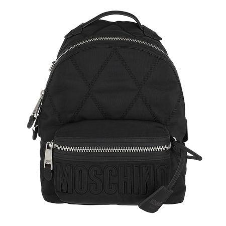 MOSCHINO  Rucksäcke - Quilted Zip Backpack - in schwarz - für Damen schwarz