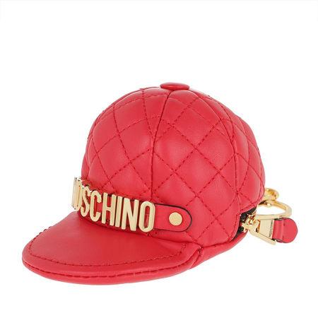 MOSCHINO  Schlüsselanhänger - Cap Keychain Logo - in rot - für Damen rot