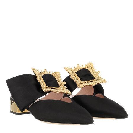 MOSCHINO  Schuhe  -  Mule Black  - in schwarz  -  Schuhe für Damen schwarz