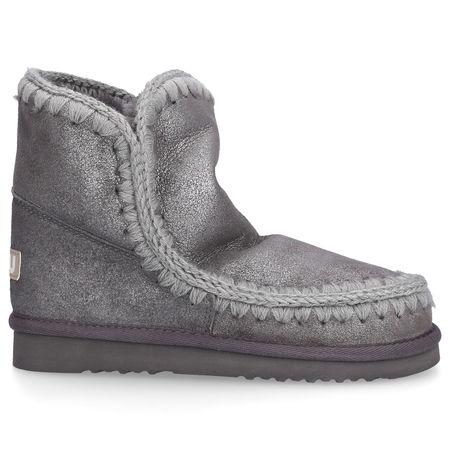 Mou Boots Snowboots ESKIMO 18 Veloursleder Ziernaht grau grau