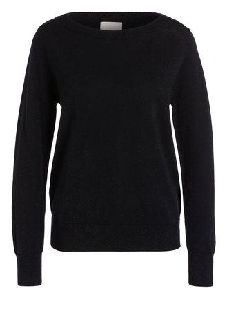 Mrs & HUGS  Pullover schwarz schwarz