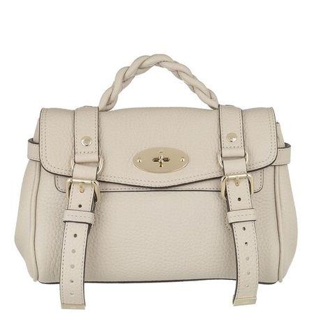 Mulberry  Crossbody Bags - Mini Alexa Crossbody Bag Heavy Grain Leather - in weiß - für Damen