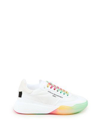 Stella McCartney  - Sneaker 'Runner Loop' Weiß/Multi