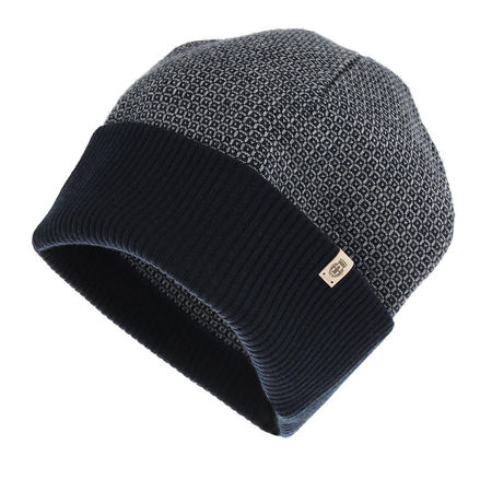 Roeckl  Caps  -  Tie Jacquard Hat Iceblue/Navy  - in blau  -  Caps für Damen schwarz