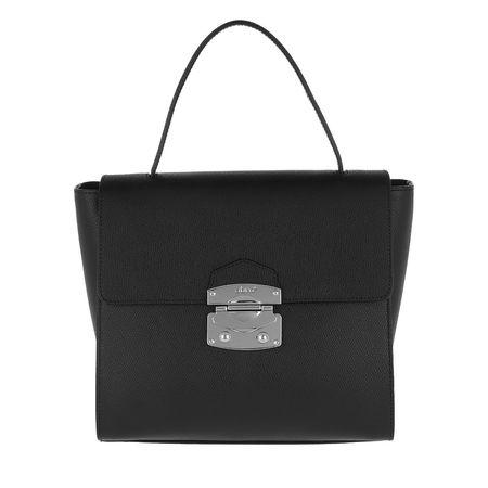 abro  Satchel Bag  -  Pamellato Handle Bag Black/Nickel  - in schwarz  -  Satchel Bag für Damen schwarz