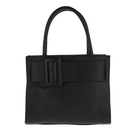 abro  Tote  -  Lotus Handle Bag Black/Nickel  - in schwarz  -  Tote für Damen schwarz