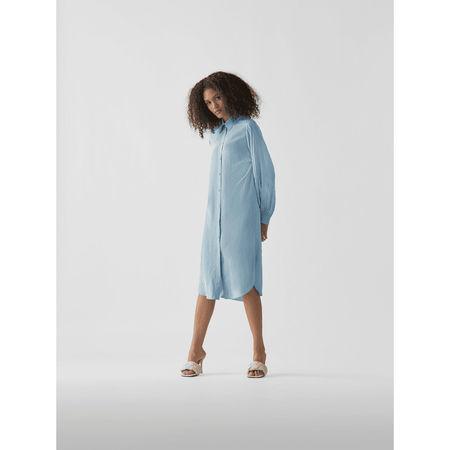 Nina Ricci Hemdblusenkleid mit Gürtel