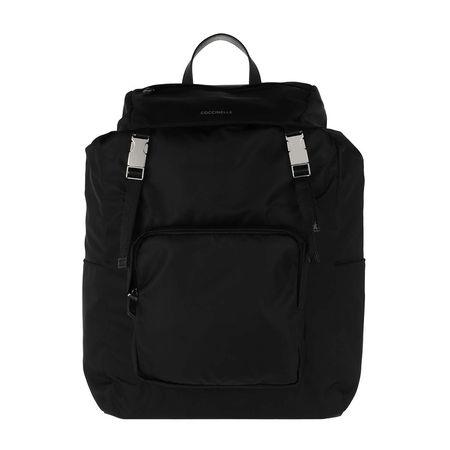 COCCINELLE  Rucksack  -  Aiden Backpack Noir/Noir  - in schwarz  -  Rucksack für Damen schwarz