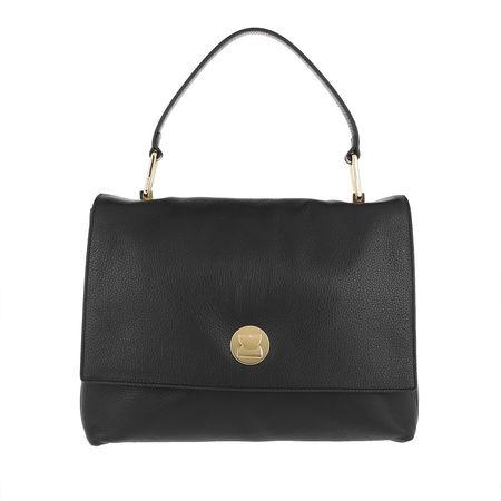 COCCINELLE  Satchel Bag  -  Liya Tote Bag Noir/Noir  - in schwarz  -  Satchel Bag für Damen grau