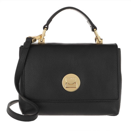 COCCINELLE  Umhängetasche  -  Liya Tote Bag Noir/Noir  - in schwarz  -  Umhängetasche für Damen schwarz