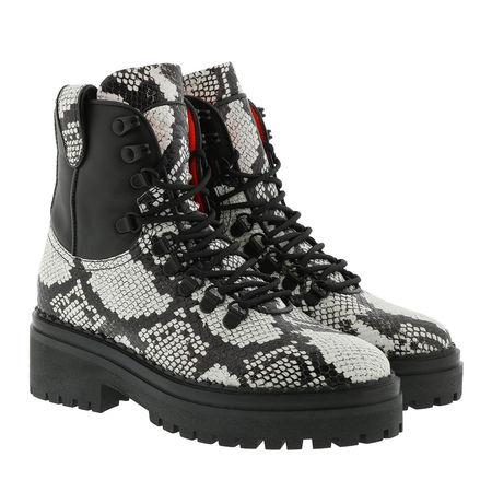 Nubikk  Boots  -  Fae Roma Boot Black Phyton  - in schwarz  -  Boots für Damen schwarz
