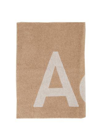 Acne Studios  - Woll-Schal 'Toronty' Beige/Oatmeal