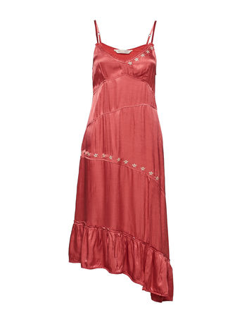 Odd Molly Party Angles Dress Kleid Knielang Pink  rot