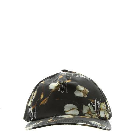 OFF-WHITE  - Baseball Kappe aus Nylon schwarz