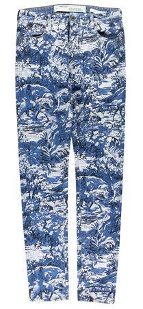 OFF-WHITE  - Jeans aus Baumwolle mit Print grau