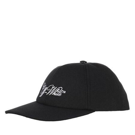 OFF-WHITE  Mützen - Embroidered Logo Baseball Cap - in schwarz - für Damen