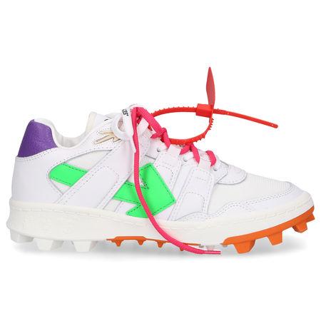 OFF-WHITE Sneaker low MOUNTAIN CLEATS Kalbsleder grau