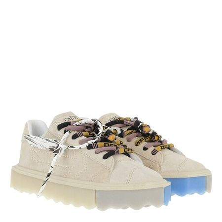OFF-WHITE  Sneakers - Sponge Sneakers - in beige - für Damen