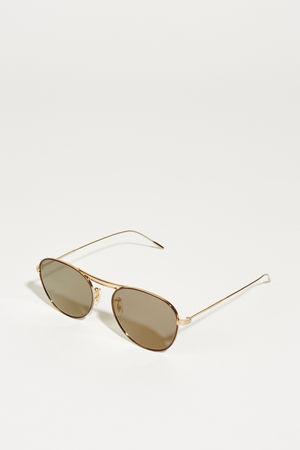 Oliver Peoples  - Sonnenbrille 'Cade' Gold