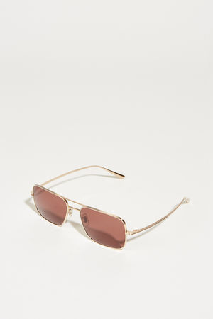 Oliver Peoples  - Sonnenbrille x The Row 'Victory L.A.' Rosé
