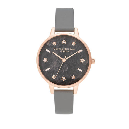 Olivia Burton  Uhr  -  Quartz Watch Women Celestial OB16GD55 Grey  - in grau  -  Uhr für Damen grau