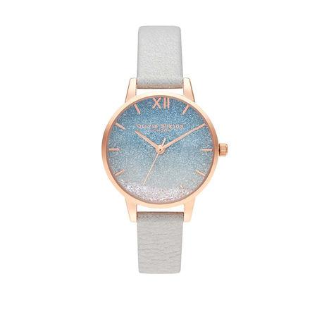 Olivia Burton  Uhr  -  Watch Under The Sea White  - in silber  -  Uhr für Damen braun