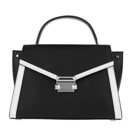 Michael Kors  Satchel Bag  -  Whitney MD TH Satchel Bag Black/Optic White  - in schwarz  -  Satchel Bag für Damen schwarz