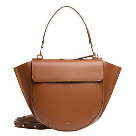 Wandler ® - Handtasche aus Leder in Cognac/Braun/Orange für Damen, Größe UNI braun