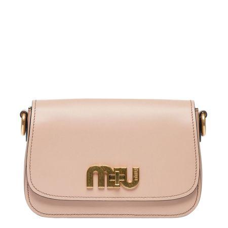 Miu Miu ® - Schultertasche aus Leder in Camel/Braun/Orange für Damen, Größe UNI braun