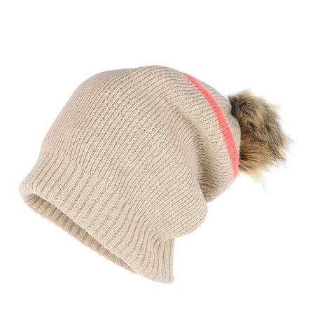 Patrizia Pepe Hat - in beige braun