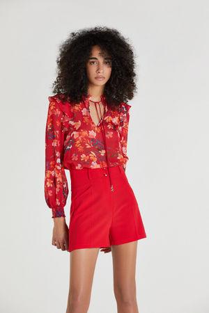 Patrizia Pepe  Shorts Rosso - Rot Damen Gr.38