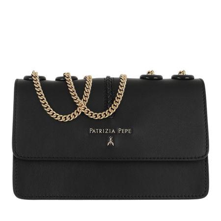 Patrizia Pepe  Tasche  -  Chain Studs Crossbody Bag Nero  - in schwarz  -  Tasche für Damen schwarz