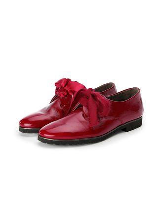 Paul Green Schnürer aus 100% Leder  rot rot