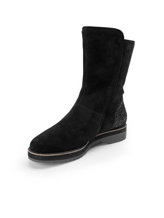 Paul Green Stiefel  schwarz schwarz