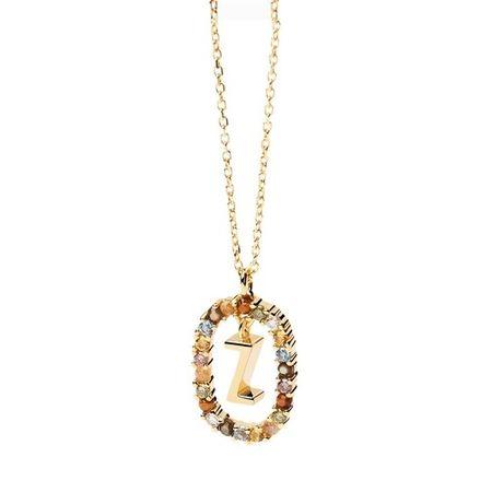 PDPAOLA  Halskette - Necklace Letter Z - in gold - für Damen