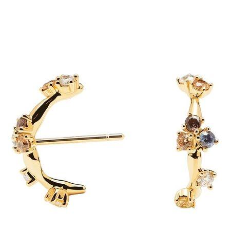 PDPAOLA  Ohrringe - Earrings Zoe - in gold - für Damen
